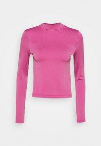Nike Sportswear - AIR MOCK - Long sleeved top - purple smoke/fireberry/white - 5