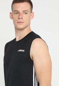 adidas Performance - 3STRIPES AEROREADY SLEEVELESS T-SHIRT - Funktionströja - black - 3