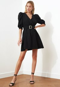 Trendyol - Sukienka letnia - black - 3