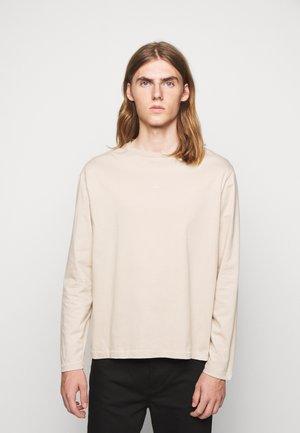 HANGER LONGSLEEVE - Long sleeved top - oxford tan
