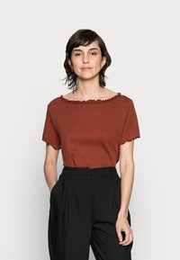 Anna Field - T-Shirt basic - dark red - 0