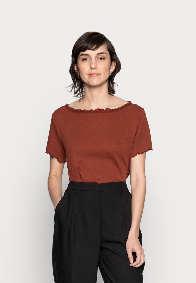 Anna Field - T-Shirt basic - dark red
