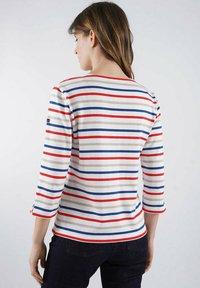 Armor lux - Long sleeved top - blanc/dunkermarine/framboisier/zanna(ou silk) - 1
