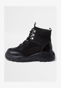 River Island - HIKER - High-top trainers - black - 0