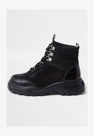 HIKER - Sneakers hoog - black