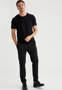 DeFacto - T-shirt - bas - black - 1