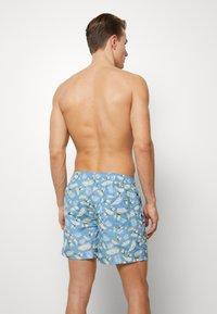 Jack & Jones - JJIARUBA JJSWIMSHORTS TROPIC - Swimming shorts - blue heaven - 1