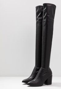 Steve Madden - JANEY - Over-the-knee boots - black paris - 4