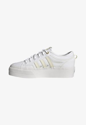 NIZZA - Baskets basses - white