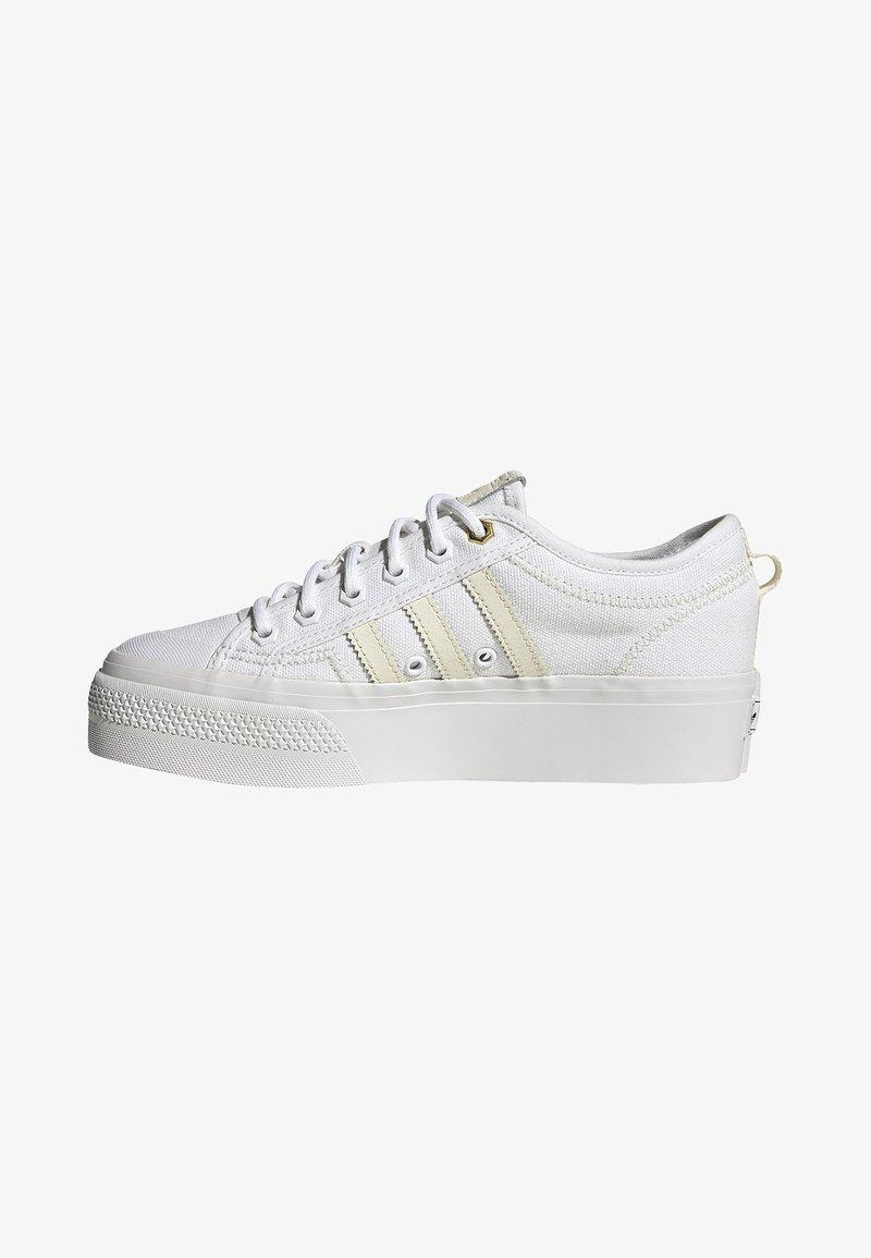 adidas Originals - NIZZA - Trainers - white