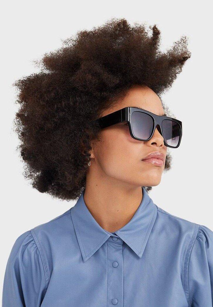 Stradivarius - Sunglasses - black