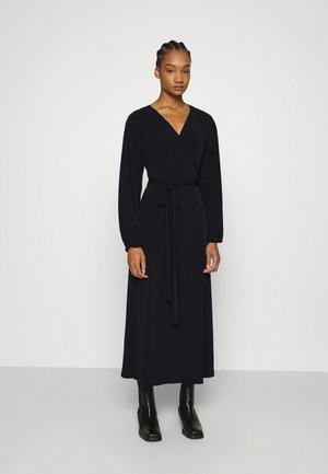 LAUGA WARP DRESS - Maxi dress - black