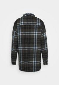 Tigha - LANDO - Overhemd - stone grey/black/ice blue - 1
