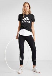 adidas Performance - W MH BOS TEE - Sports shirt - black - 1