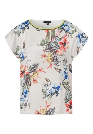 SATINFRONT, TROPICAL SUMMER - Blouse - offwhite