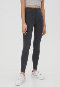PULL&BEAR - Leggings - Trousers - dark grey - 0