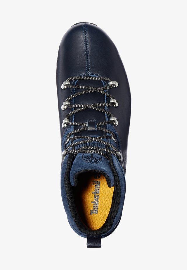 SPLITROCK - Sznurowane obuwie sportowe - navy full grain