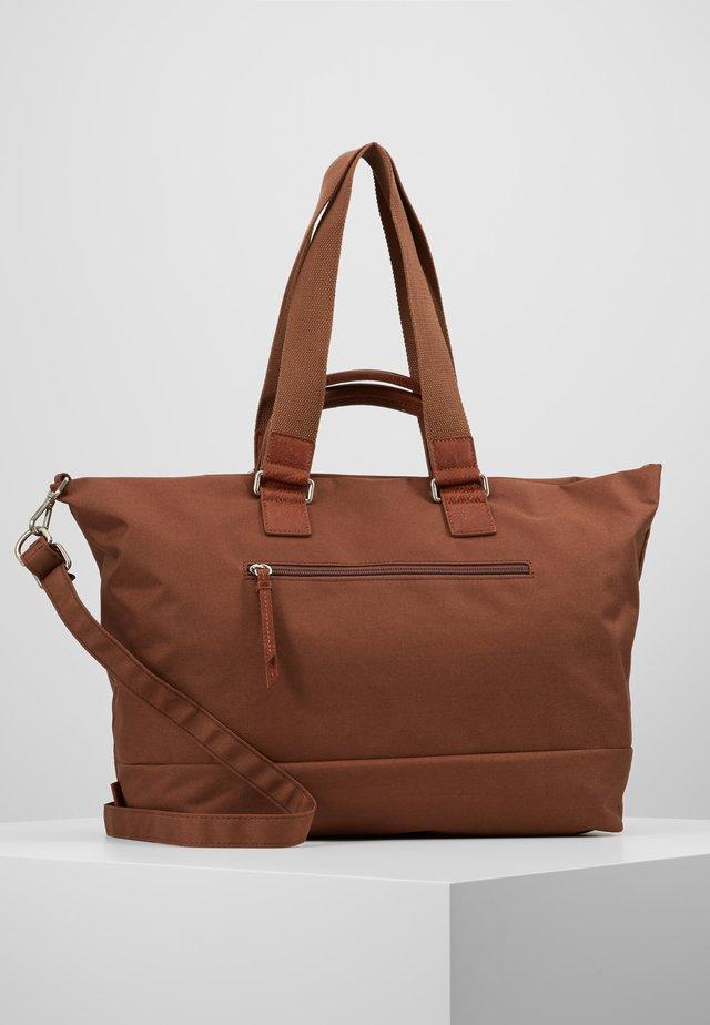 SHOPPER - Tote bag - midbrown