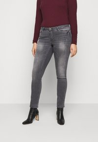 JUNAROSE - by VERO MODA - JRFIVEALLICA - Slim fit jeans - medium grey denim - 0