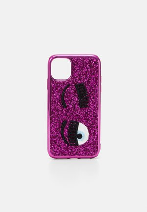 GLITTER FLIRTING CASE IPHONE 11 - Phone case - fuxia