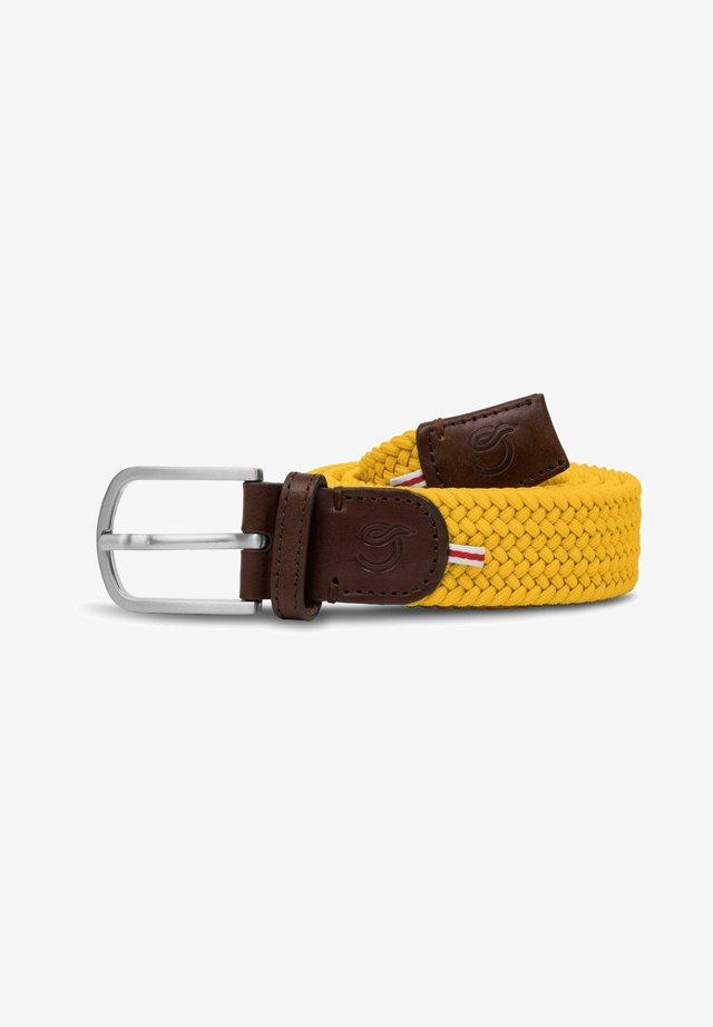 LOS ANGELES - Braided belt - yellow