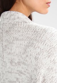 Urban Classics - OVERSIZED  - Cardigan - white/grey - 4