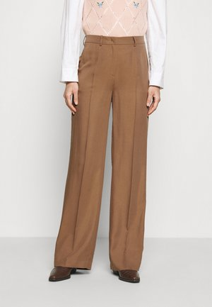 MARLENE PANTS - Trousers - noisette