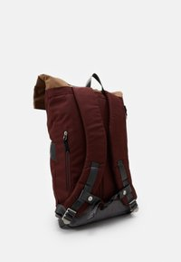 Doughnut - CHRISTOPHERSPACE COLLECTION UNISEX - Rucksack - brown/charcoal - 1