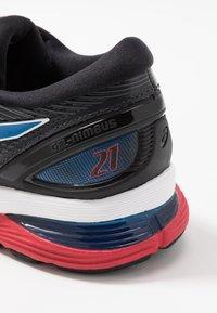 ASICS - GEL-NIMBUS 21 - Scarpe running neutre - black/electric blue - 5