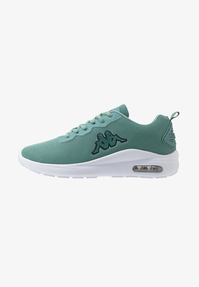 ALLY - Sports shoes - dark mint/white