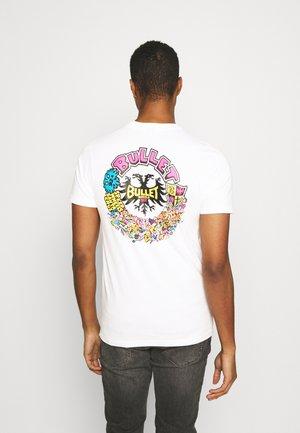 BULLET RIOT UNISEX - T-shirt imprimé - white