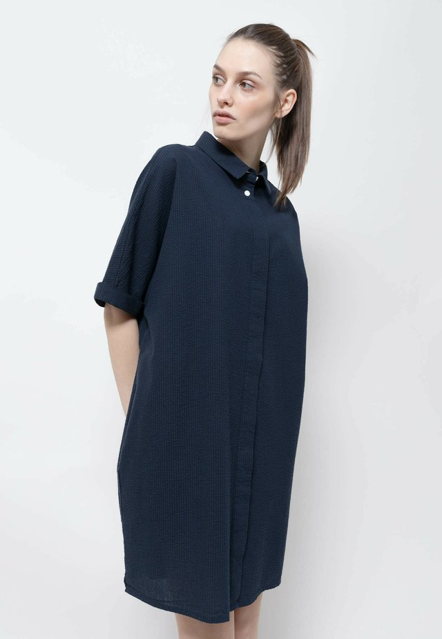 Robe chemise - black-navy blue