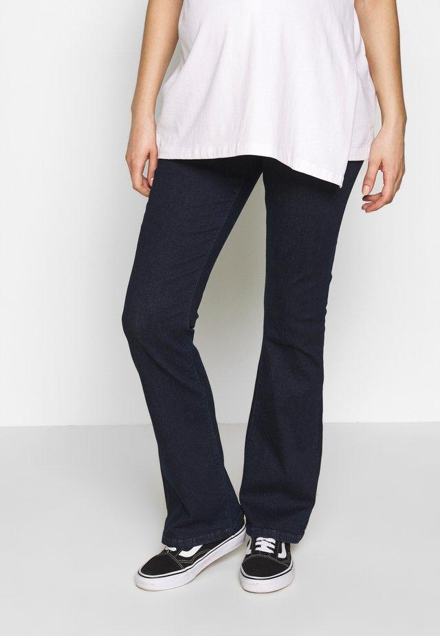 PANTS - Jean bootcut - darkwash