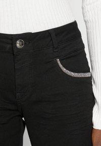 Mos Mosh - ROW BLACK - Jeans Skinny Fit - black - 4