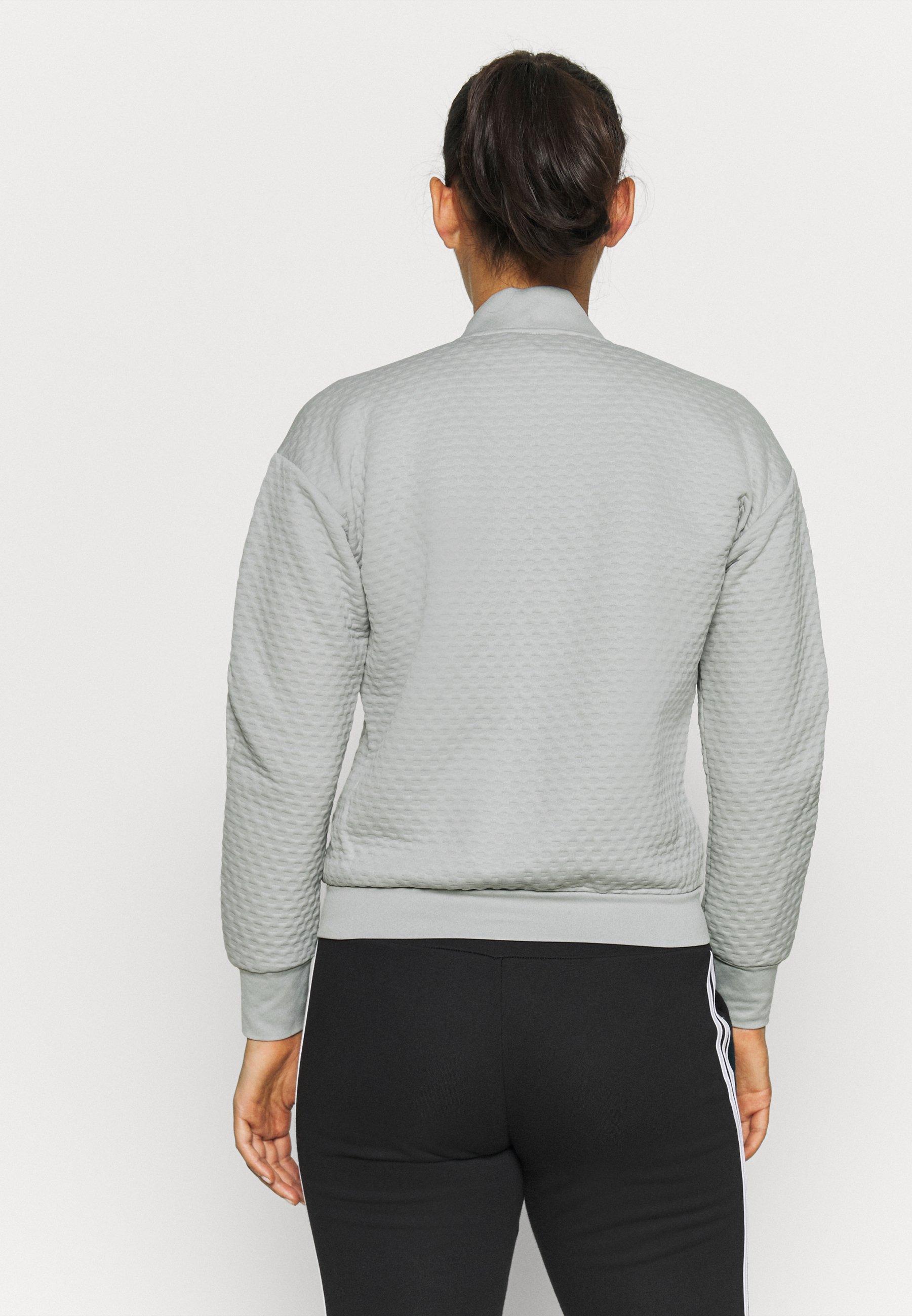 adidas Performance TERREX HIKE - Training jacket - grey zNYXD