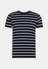 Tommy Hilfiger - STRETCH TEE - T-shirts basic - blue - 3