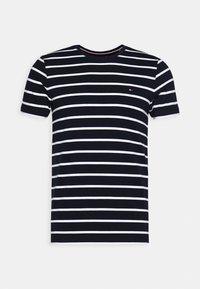 STRETCH TEE - Print T-shirt - blue