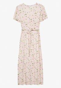 Dorothy Perkins - DAISY BUTTON THROUGH SLEEVE MIDI DRESS - Jerseykjole - pink - 1