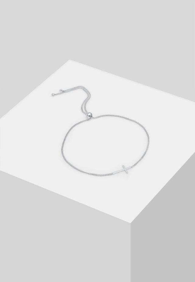 KREUZ - Bracelet - silber