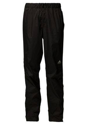 FLUID PANTS - Trousers - schwarz