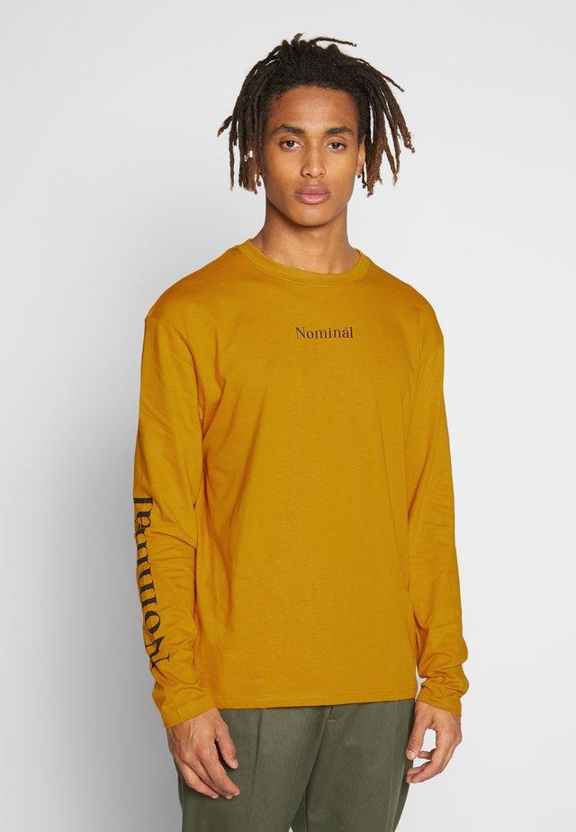 REGRETS - Bluzka z długim rękawem - mustard