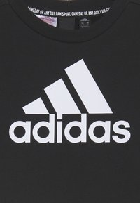 adidas Performance - CREW UNISEX - Sweater - black/white - 2