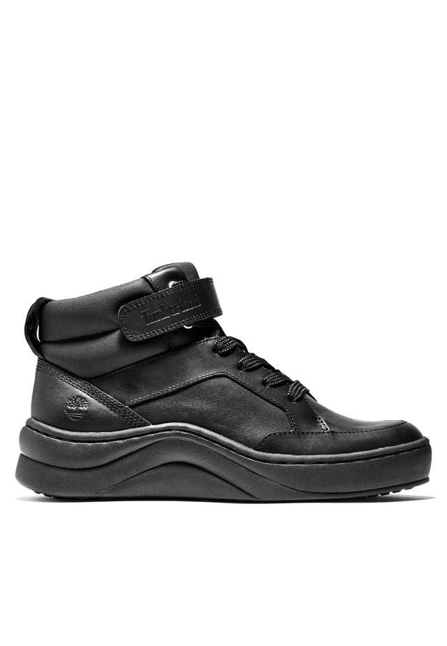 RUBY ANN CHUKKA - High-top trainers - black full grain