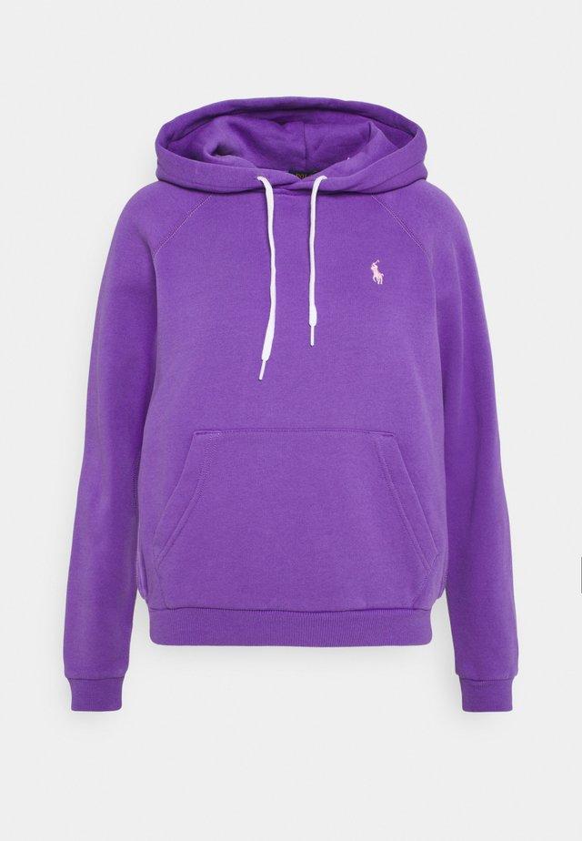 LONG SLEEVE - Bluza z kapturem - spring violet