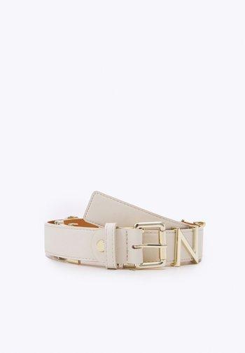EMMA WINTER - Belt - ecru/oro