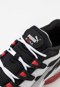 Puma - Trainers - black/high risk red - 5