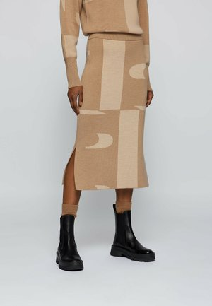 Pencil skirt - patterned