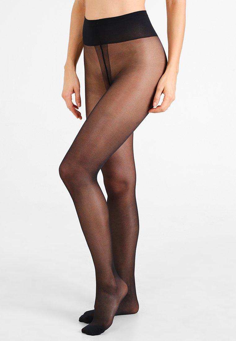 Femme 25 DEN COLLANT DIAM'S JAMBES FUSEL SEMI OPAQUE  - Collants -  noir