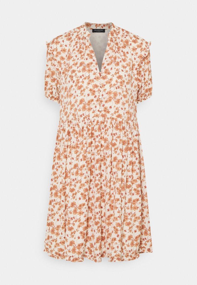 Selected Femme - POLINE PAULINA  - Day dress - birch/flower