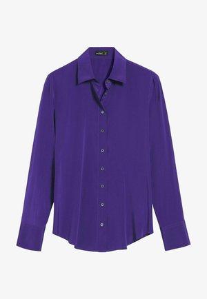 Button-down blouse - flieder/lila